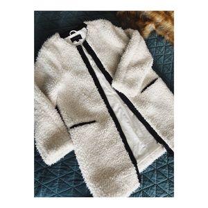 Ann Taylor Shearling Sherpa Teddy Coat